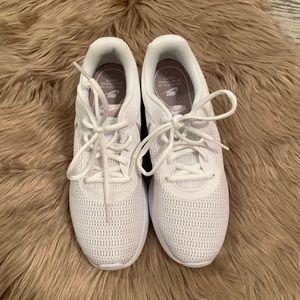 Nike Shoes - NEW Nike White and Rose Tanjun Sneakers